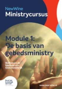 Dit is een brochure van Ministry Cursus 1
